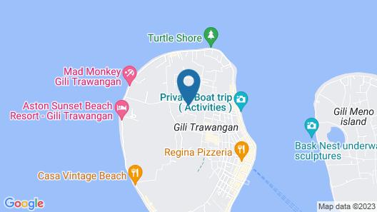 Coconut Garden Resort Map