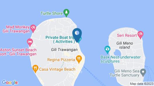 Villa Unggul Map