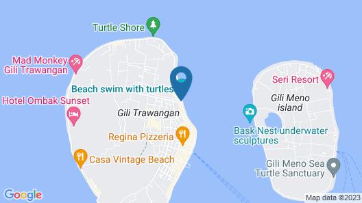 La Bella - Hotel Villa & Spa Map