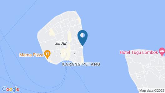 Salim Beach Resort Map