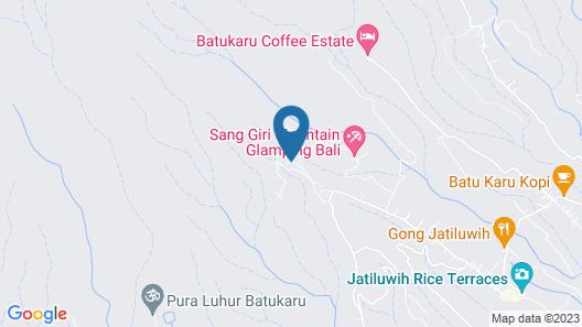 Batukaru Eco Retreat Map