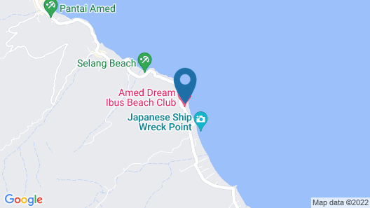Aquamarine Beach Villas Map