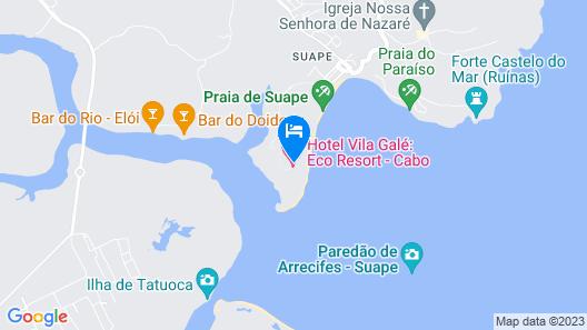 Vila Galé Eco Resort do Cabo - All Inclusive Map