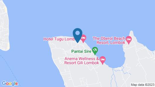 Joglo House Lombok Map