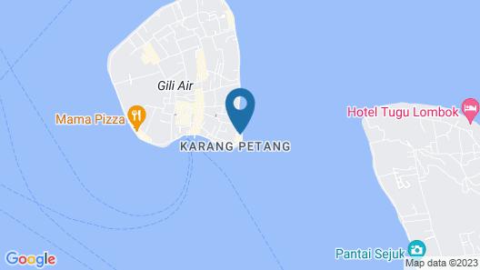 Sunrise Gili Air Map