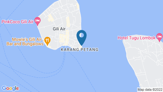 Chill Out Bungalows Map