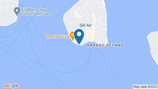 PinkCoco Gili Air Map