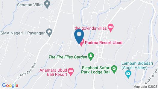 Padma Resort Ubud Map