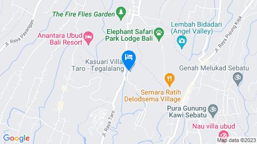 Villa Cendrawasih Map