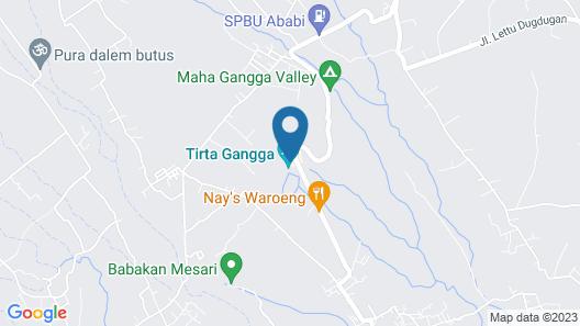 Tirta Ayu Hotel & Restaurant Map