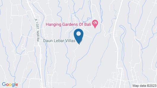 Daun Lebar Villas Map