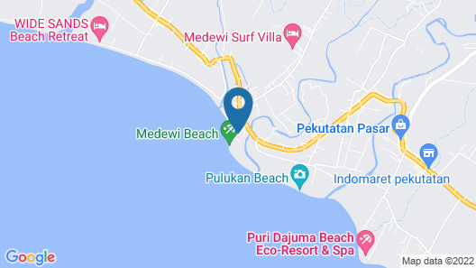 OYO 915 Villa Sari Map