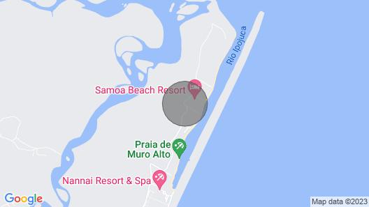 LA FLEUR POLINESIA, FLAT PREMIUM - 2qts<br>HIGH WALL / PORTO DE GALINHAS  Map