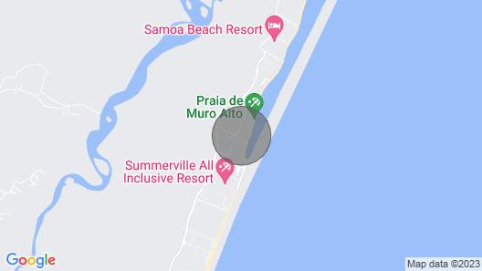 LUXURY SEASIDE BUNGALOW ON MURO ALTO BEACH Map