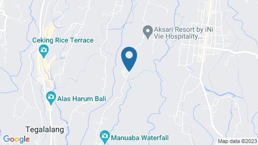 UBUD DEDARI II Map