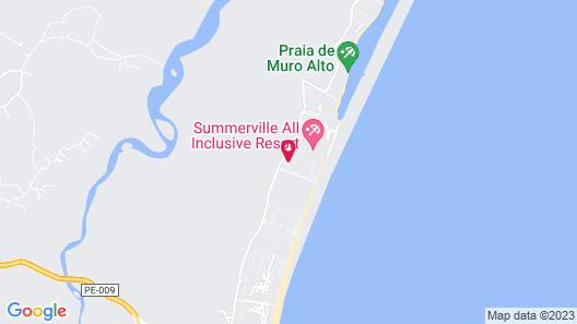 Flat Beira Mar Marulhos Map