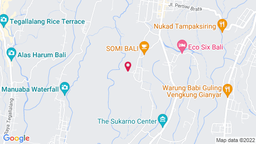 Ubud Bubble Luxury Tent- Glamping Map