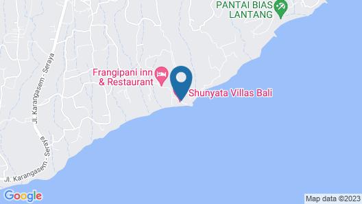 Shunyata Villas Bali Map