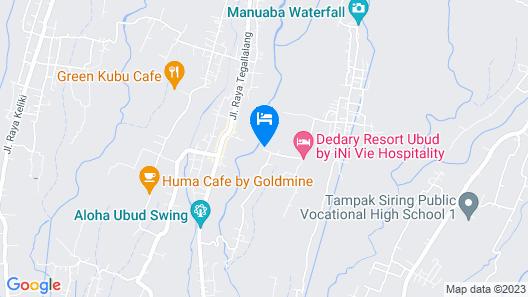 Alam Ubud Culture Villas & Residences Map