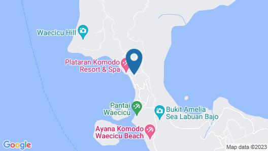Plataran Komodo Beach Resort Map