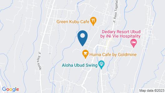 Malaya Villas Ubud Map