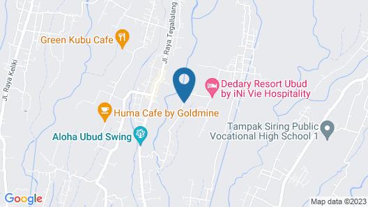 Ubud Sawah Homestay Map