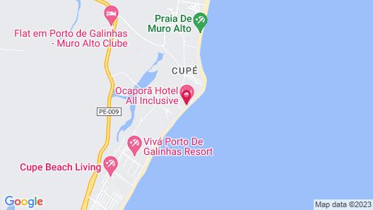 Ocaporã Hotel - All Inclusive Map