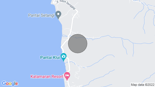 5 Bedroom Ocean Villa with Private Pool at Malimbu Map