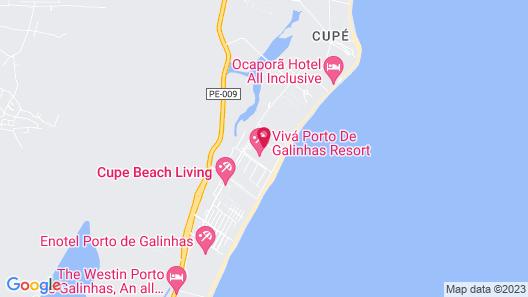 Vivá Porto de Galinhas Resort Map