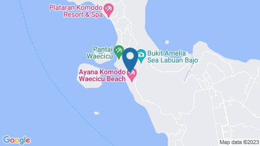 Coconut Beach Resort Map