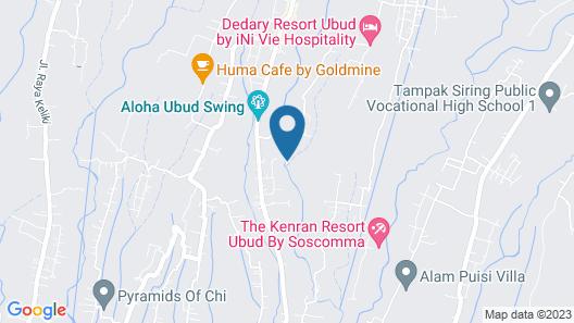 Ubud Hills Villas & Resort Map