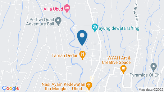 Pramana Watu Kurung Resort Map