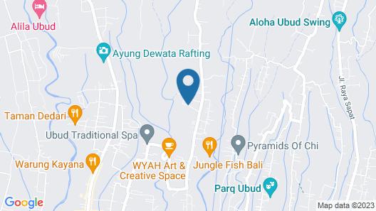Segening Villa Map