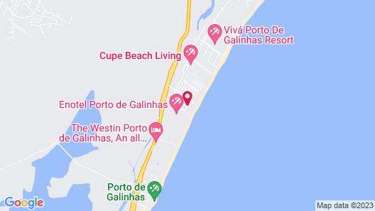 Hotel Pousada Butias Map