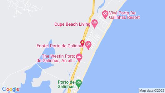 Enotel Porto de Galinhas Map