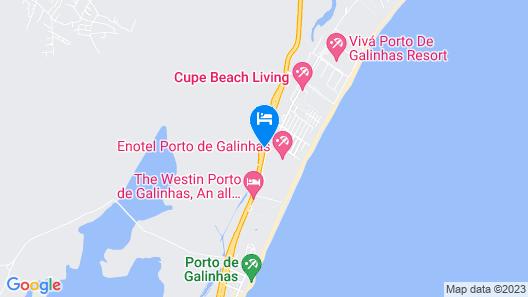 Enotel Convention & Spa Porto de Galinhas - All Inclusive Map