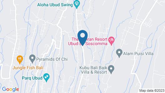 Tejaprana Resort & Spa Map