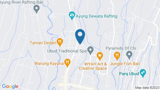 The Payogan Villa Resort & Spa Map