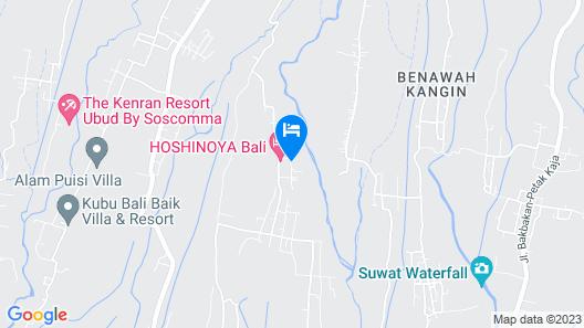 Hoshinoya Bali Map