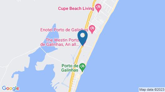 Porto de Galinhas Resort e Spa Map