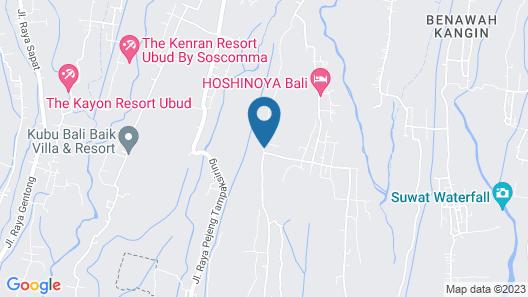 Ubud Valley Boutique Resort Map