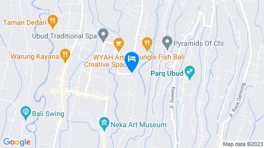 Jannata Resort and Spa Map