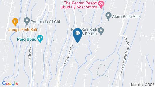 Ubud Luwih Villa Map
