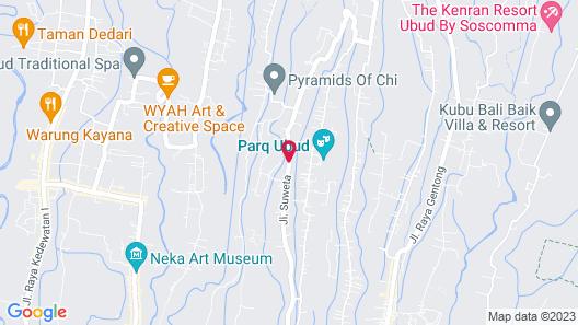 Tapa Nata Ubud by Pramana Map