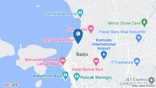 Loccal Collection Hotel Map