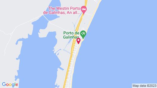 Armação Resort Porto de Galinhas Map
