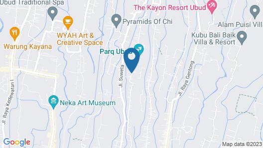The Udaya Resorts and Spa Map