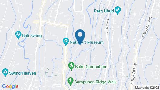 The Lokha Ubud Resort, Villas & SPA Map