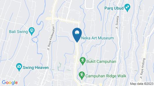 Ubud Paras Villa Map
