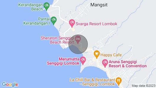 Norton Homestay, Jalan Senggigi KM 10, Mangsit Exclusive Suite #4 Map